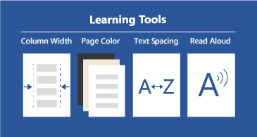 Four available leaning tools that make documents more readable